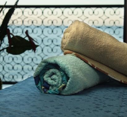 Dettaglio asciugamani